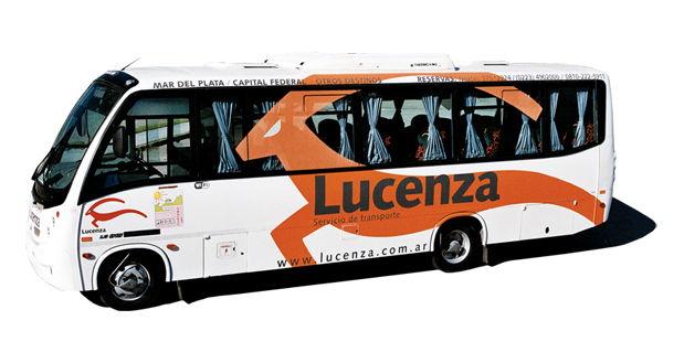 Lucenza transportation - Mercedez Minibus